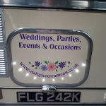 Book Daisy for weddings, parties, events and occasions