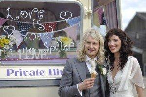 East Sussex ice cream wedding