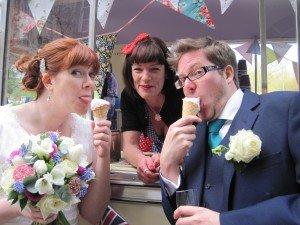Sussex ice cream wedding