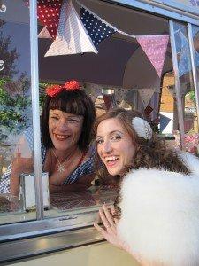 Surrey ice cream wedding