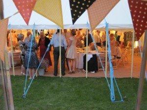 Harpseden ice cream wedding