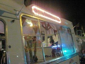 Marlow Christmas Fair, ice cream, hot chocolate