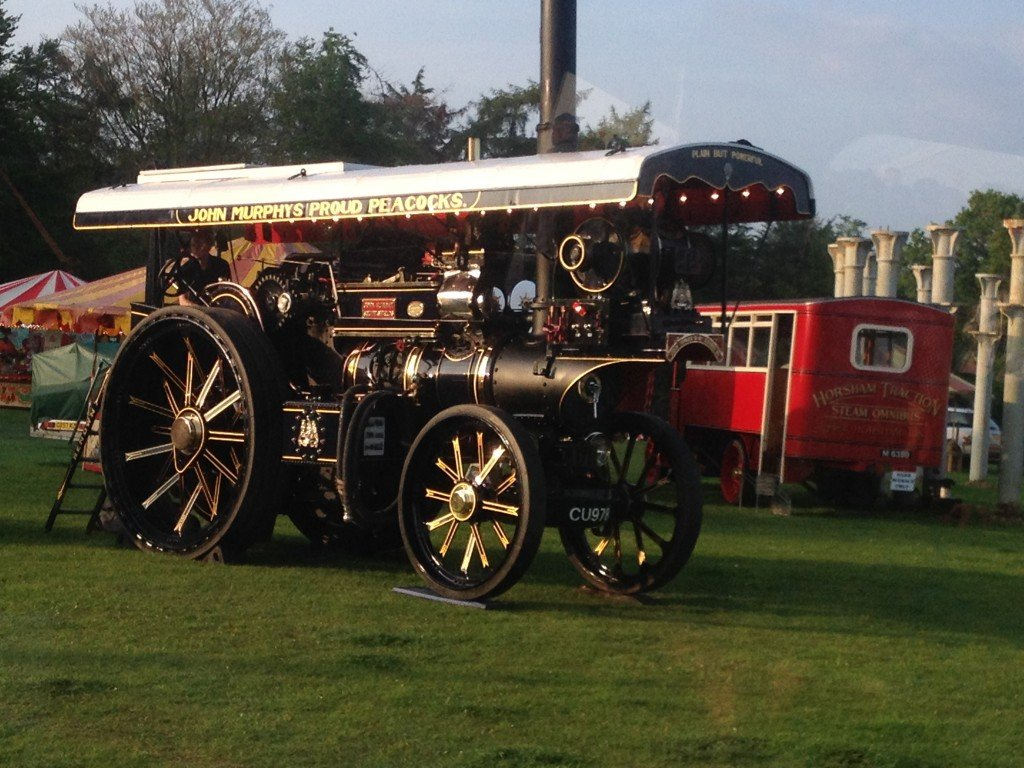 Fawley Hill Vintage and Steam Weekend