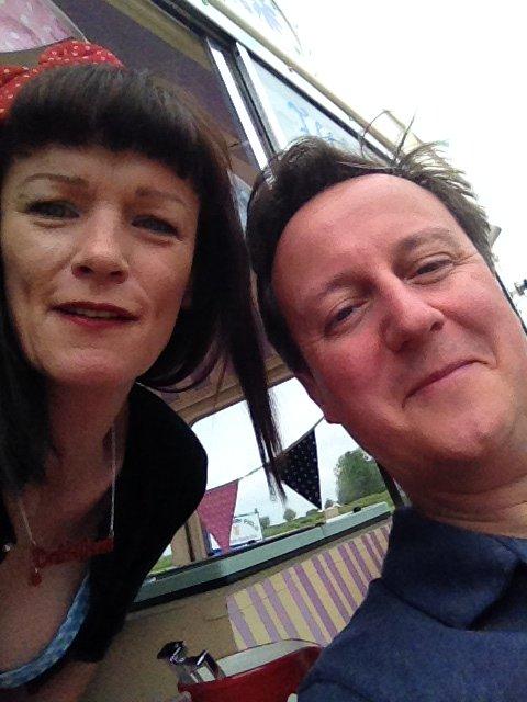 David Cameron Selfie