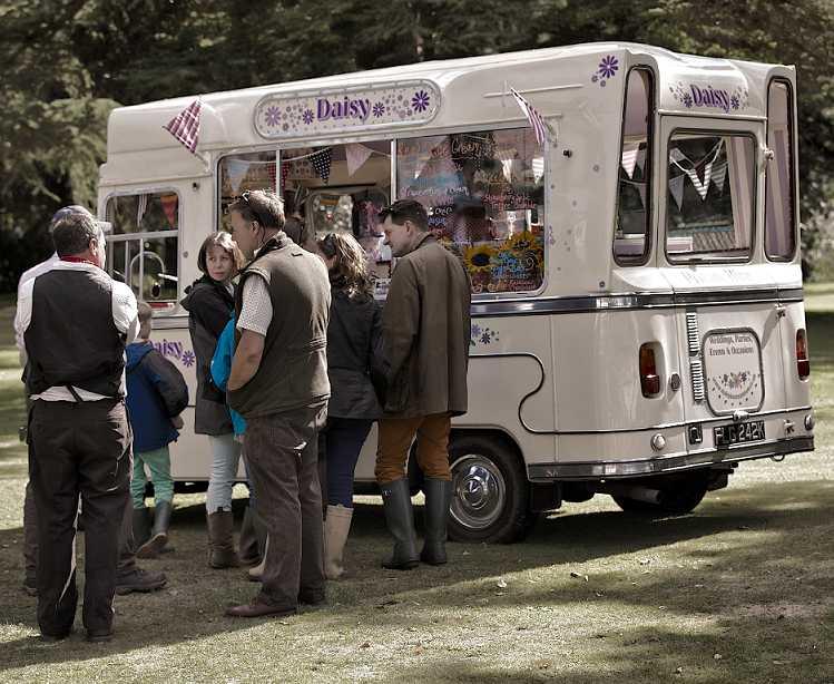Vintage Ice Cream Event